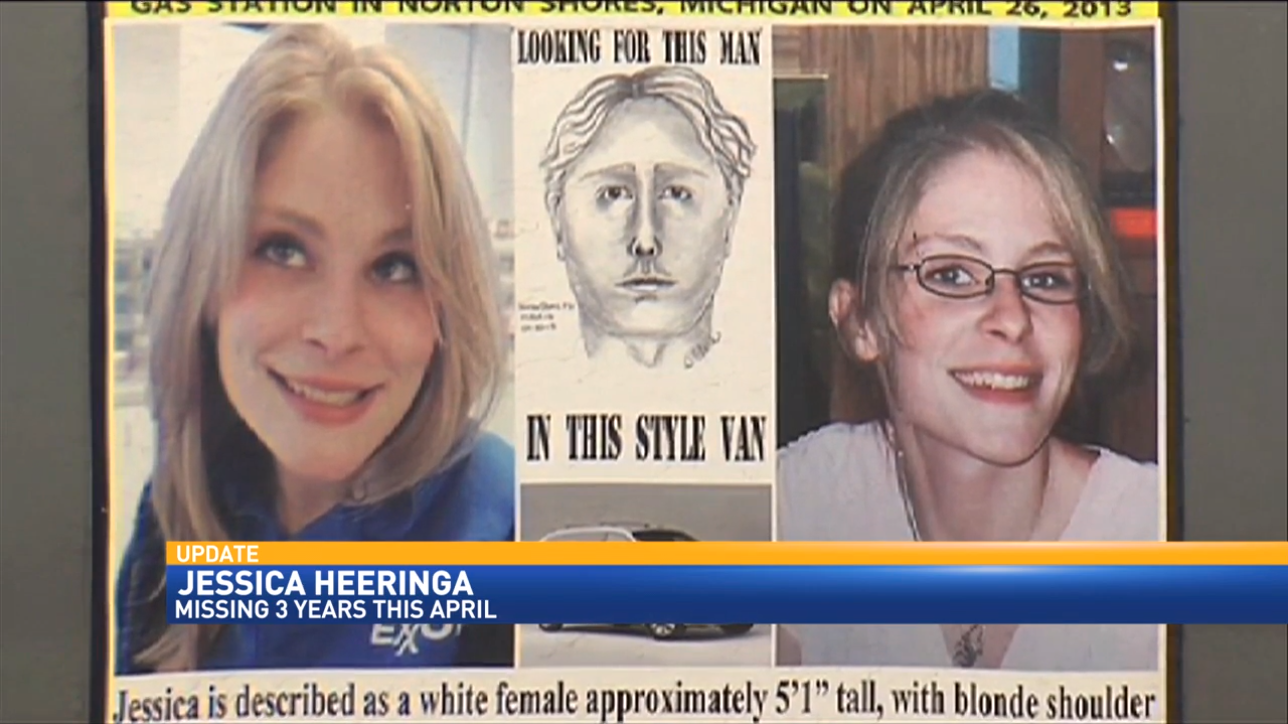 The Muskegon Co. Prosecutor has announced charges in the Jessica Heeringa case.