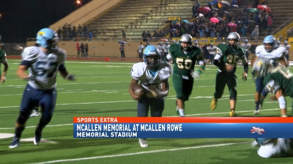 McAllen Memorial Finishes Perfect District Season Crushing Rowe