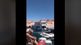 VIDEO: Real estate expert's houseboat sinking at Lake Powell captures viewers' attention