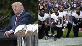Trump suggests NFL players who kneel shouldn't be in US