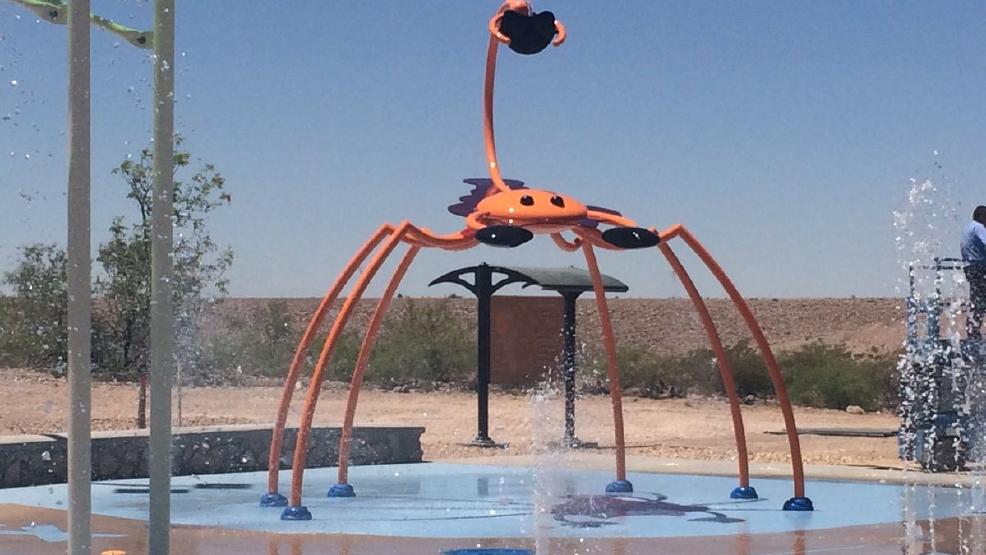 Newest Spray Park Opens In West El Paso Kdbc