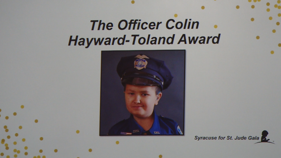 Syracuse for St. Jude Gala honors youngest Ithaca police officer who died from cancer