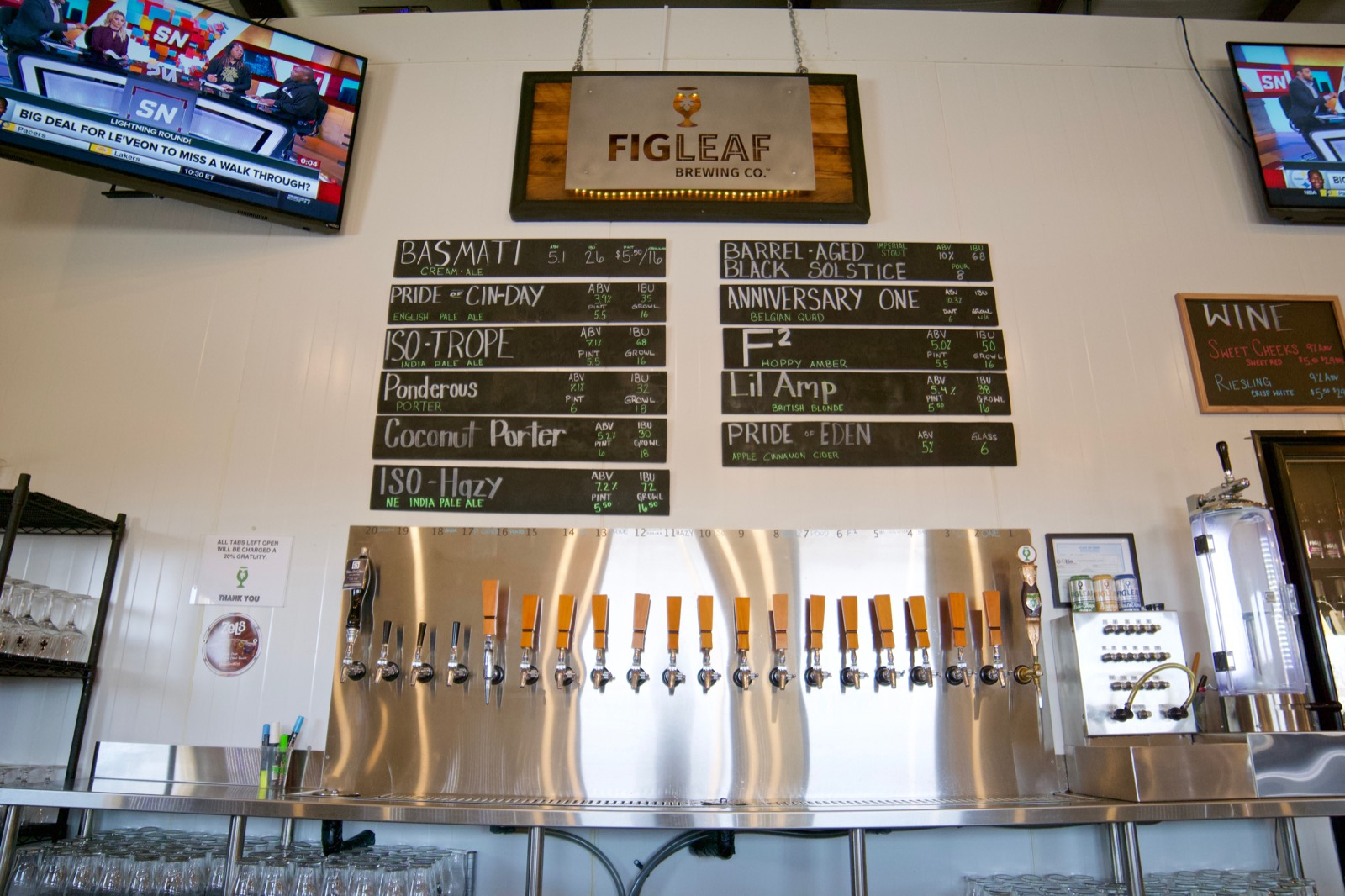 FigLeaf was founded in 2016 to bridge the craft-beer divide between Dayton and Cincy. It succeeds with a lineup of varied and delicious beers, including porters, saisons, hazy IPAs, and even experimental ciders. Moreover, the taproom atmosphere is friendly and comfortable, with board games, large tables, and a covered outdoor patio. / Image: Brian Planalp // Published: 1.28.18