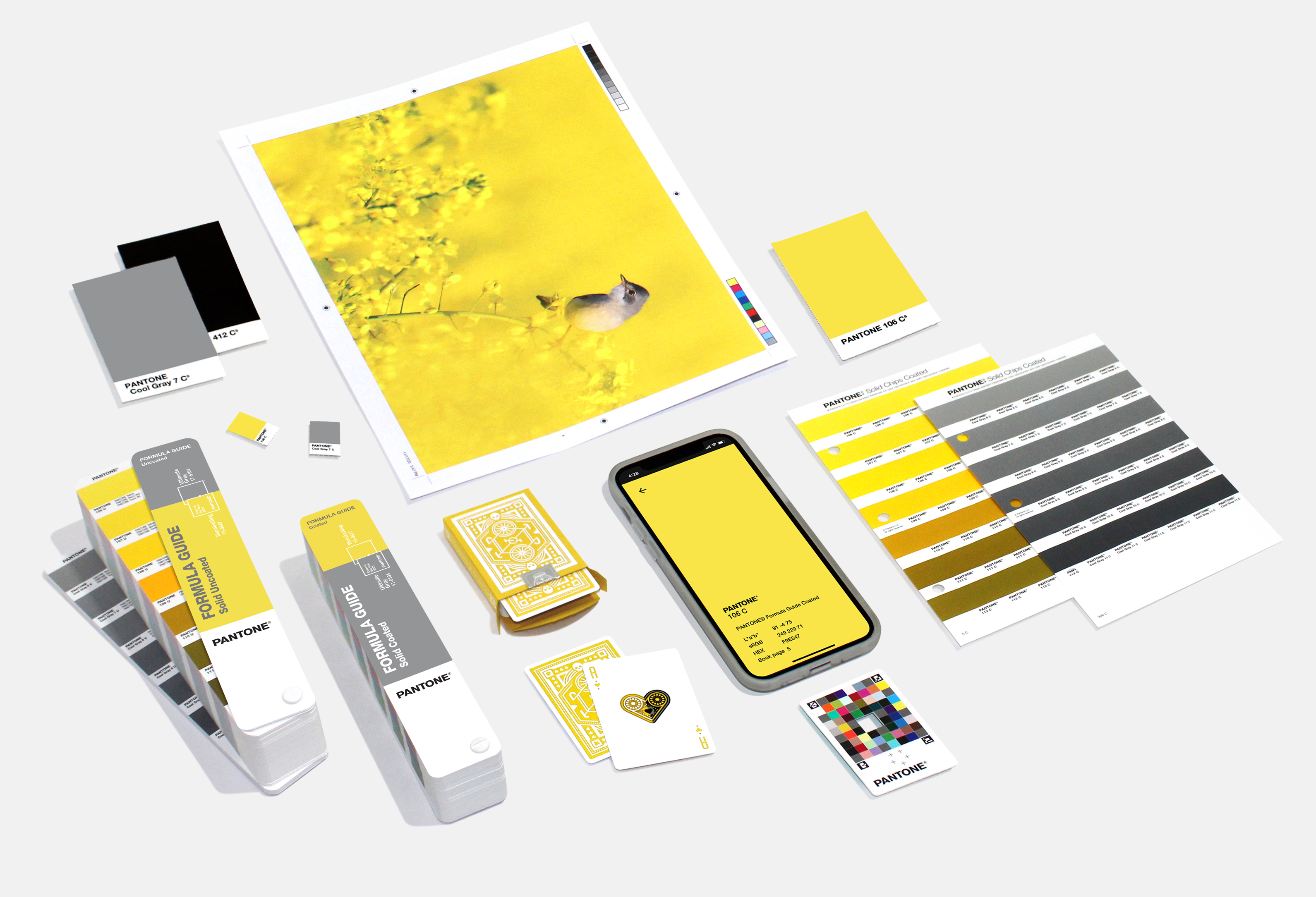Pantone colors of the year for 2021 are Ultimate Gray and Illuminating. (Image: Pantone)<br><p></p>
