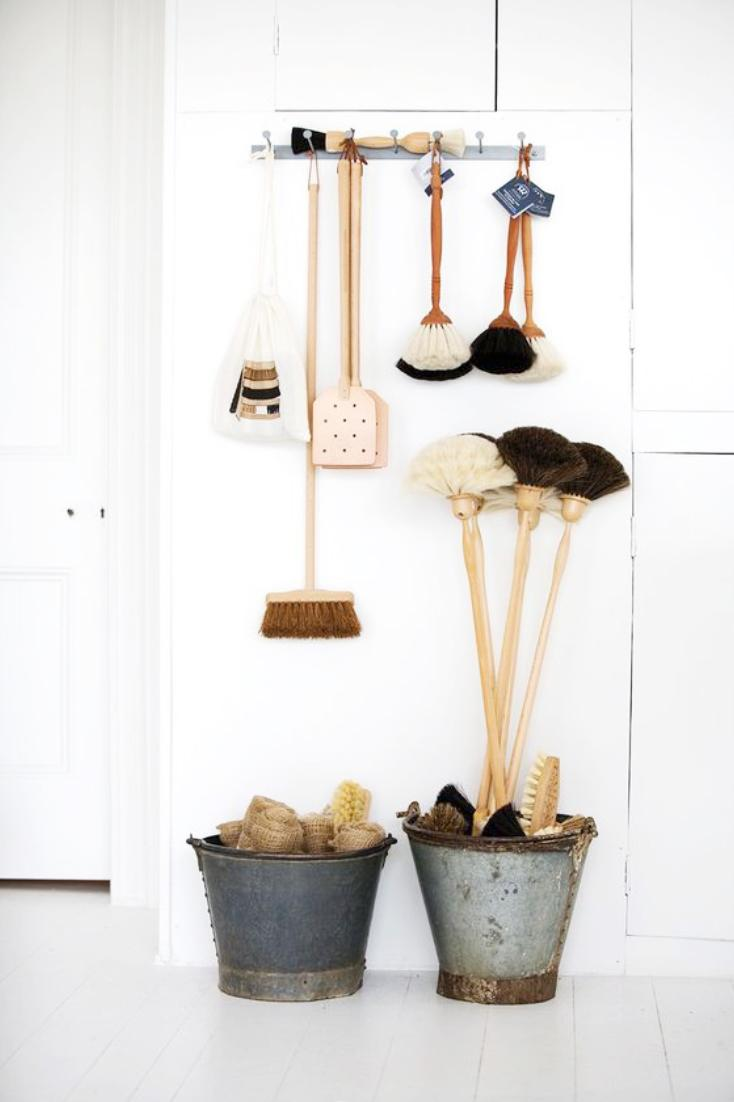 Plus, there is a brush designed for every use in your home (yes, even the toilet) which enables design flow throughout your home. (Image: Ashley Hafstead)