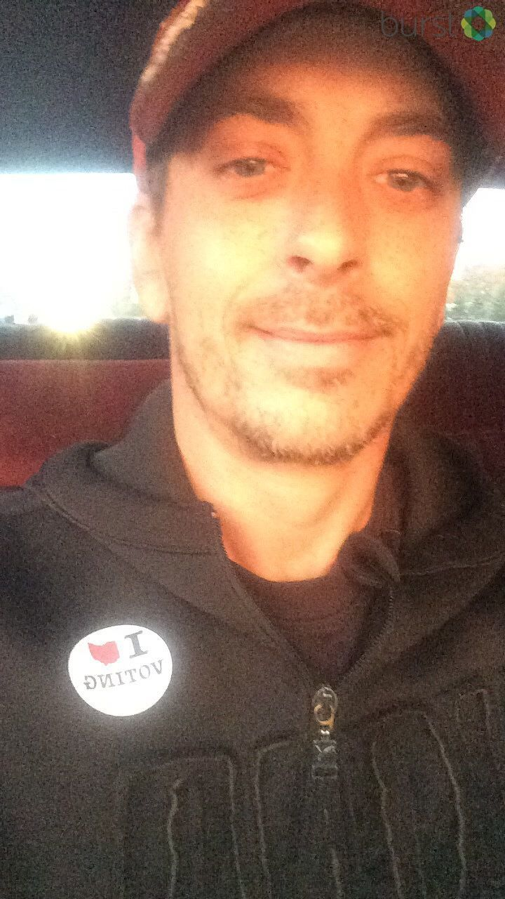 Damien, a first-time voter in Columbus (submitted via Burst)