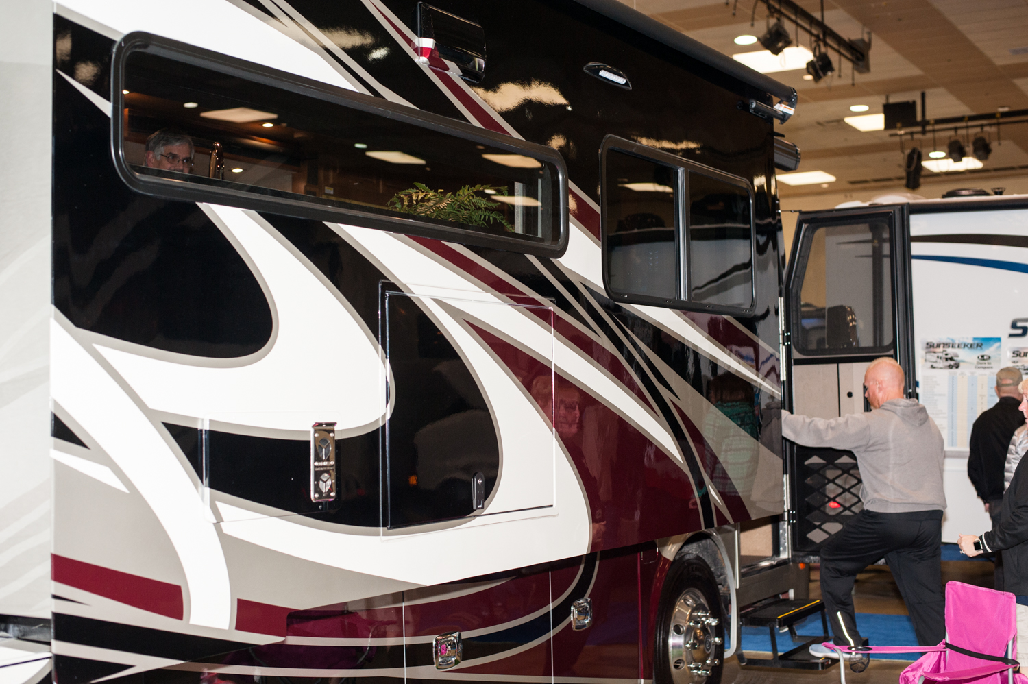 $232,521 - Poulsbo RV's 2019 Tiffin Breeze 33BR. The Tacoma RV Show is happening this weekend (Jan. 17-20) at the Tacoma Dome, with hundreds of RV's on display and more than 100 brands at the show. Since we are Seattle 'Refined' - you know we had to check out the most expensive, swankiest vehicles at the show! (Image: Elizabeth Crook / Seattle Refined)