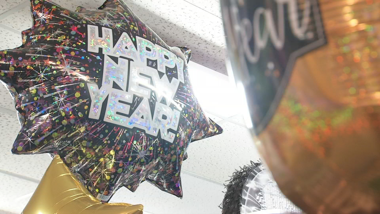 Bill Grimsley, the owner of Celebrations Party Store, says the business does a big portion of its sales for the year around New Year's because it is a holiday everyone celebrates, and people like to throw parties. (Photo credit: WLOS Staff)