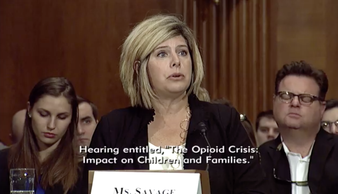 Becky Savage /Photo: Senate Committee on Health, Education, Labor and Pensions