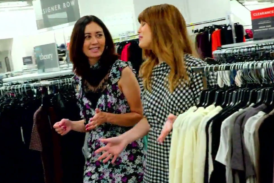 Nordstrom Senior Fashion Director Shannon Schafer at the new Nordstrom Rack location at Lincoln Square in Bellevue. She gave us the scoop on how to find the freshest looks for less at The Rack.