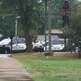 Little Rock police investigating a shooting at the Auxora Arms Apartments