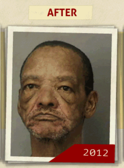 This 2012 photo was taken of the same man who reportedly had a 'purchase of cocaine ' charge. (Photo, info from rehabs.com/)
