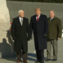 Trump visits MLK memorial