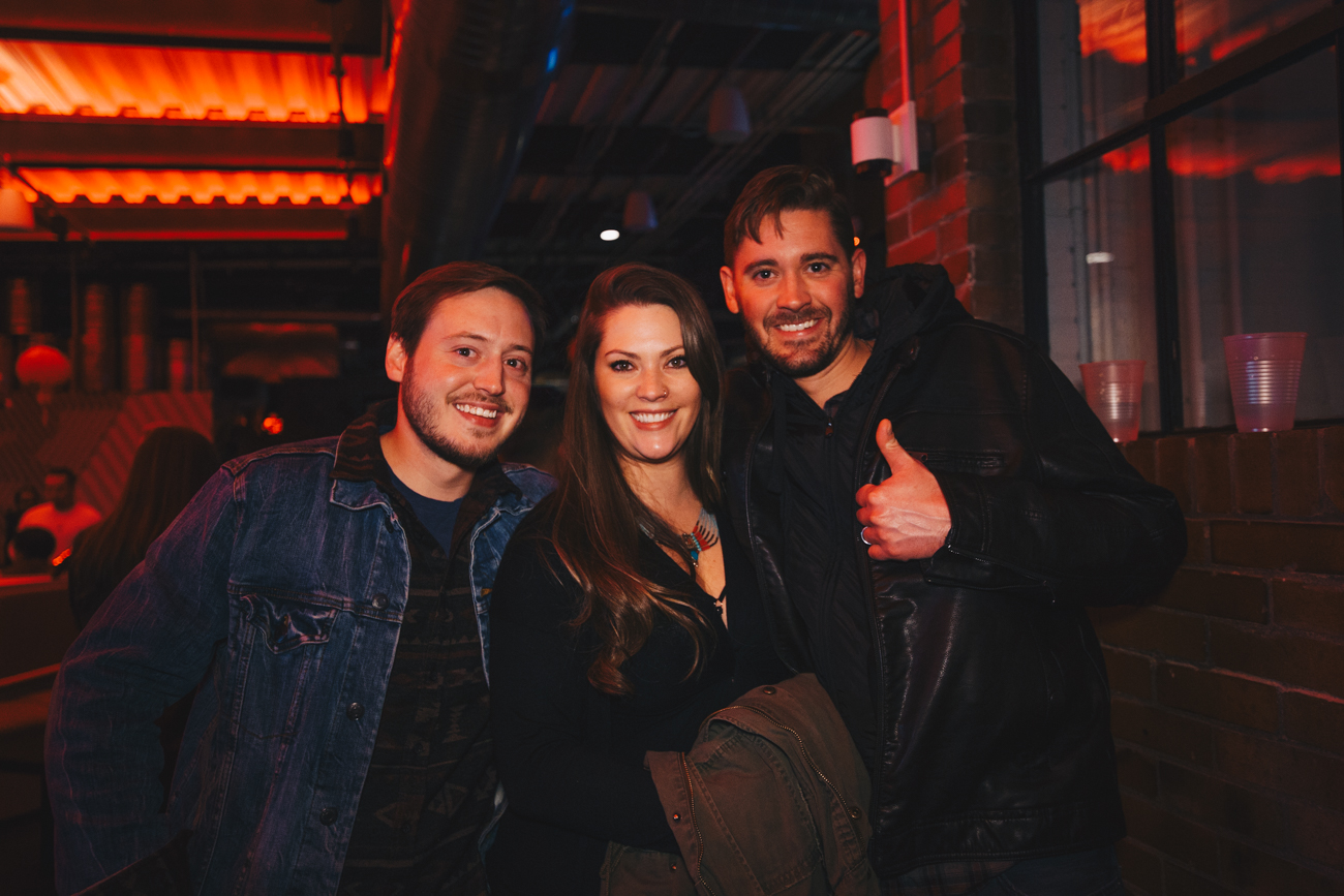 Devin, Jessica, and Dalton Shroyer /{ }Image: Catherine Viox{ }// Published: 2.3.19