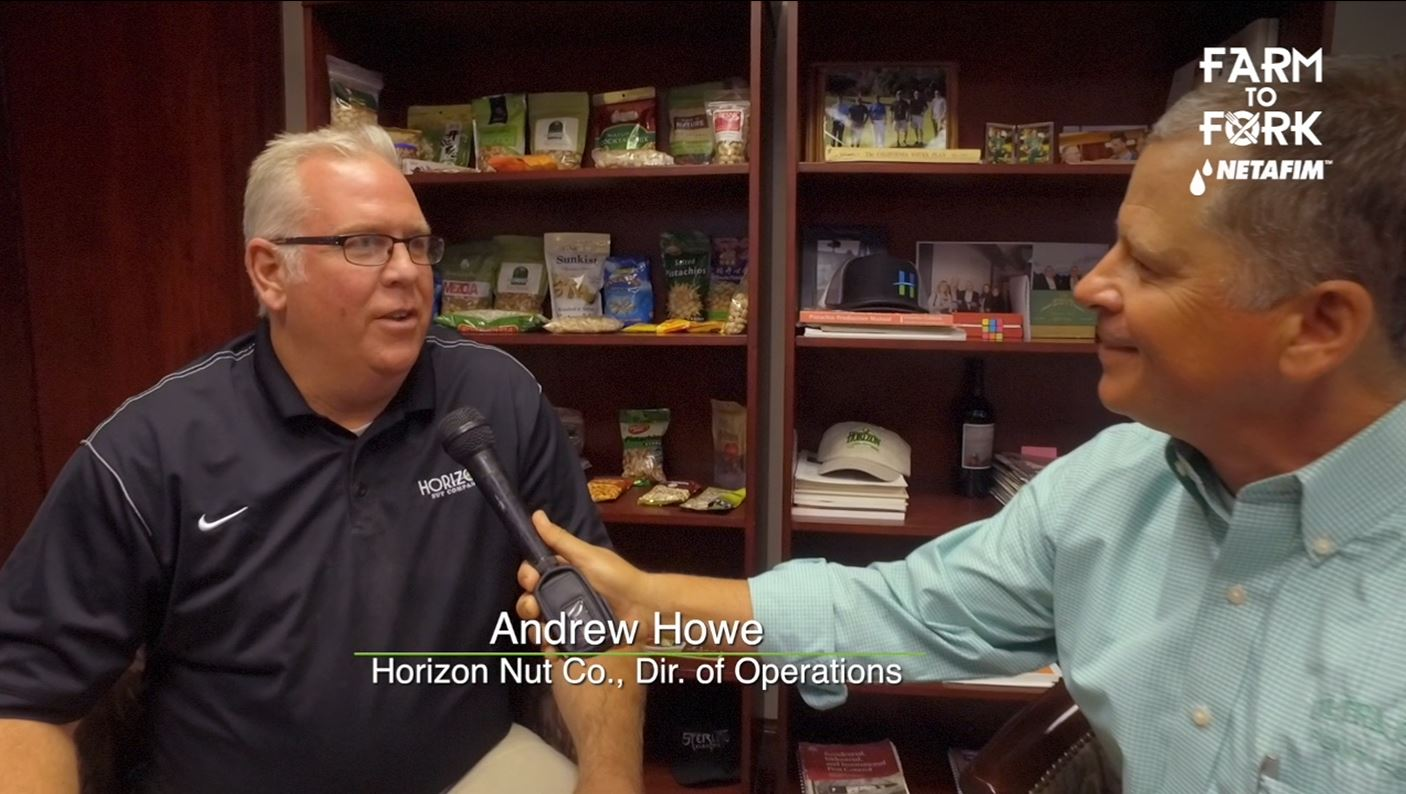 Rich Kreps, a Certified Crop Advisor for Ultra Gro sat down with Andrew Howe, Director of Operations with Horizon Nut Co.