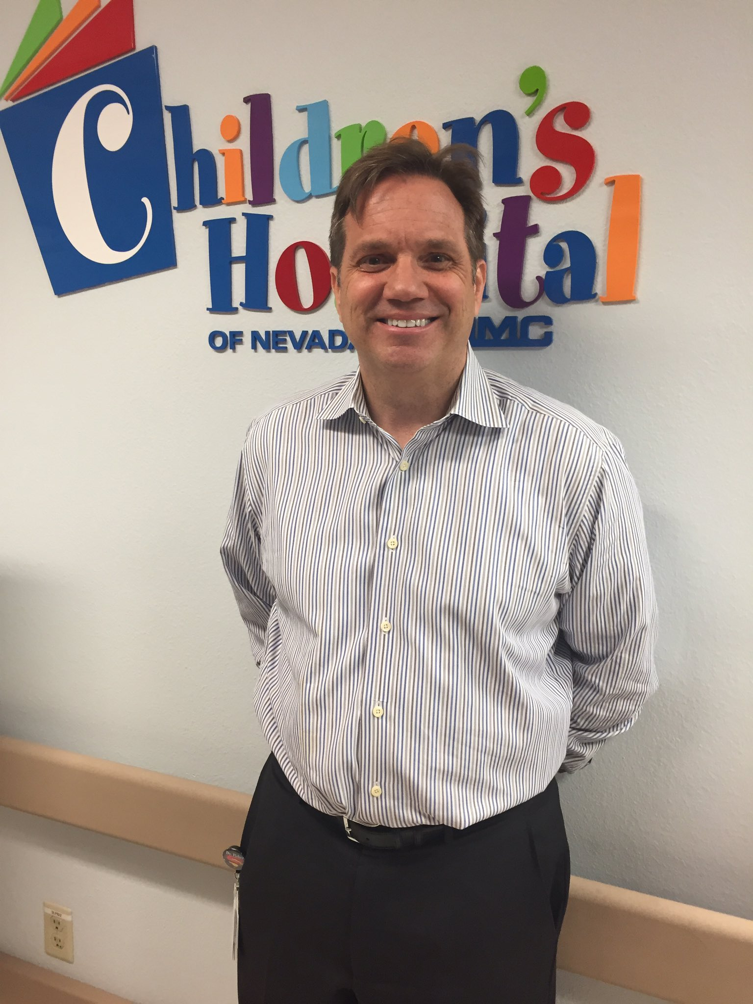 Dr. Jay Fisher, Medical Director of the Pediatric Emergency Department at Children's Hospital of Nevada at UMC. 6/20/17 (Chloe Beardsley | KSNV)