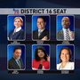 A look at Democratic candidates running for 16th Congressional District