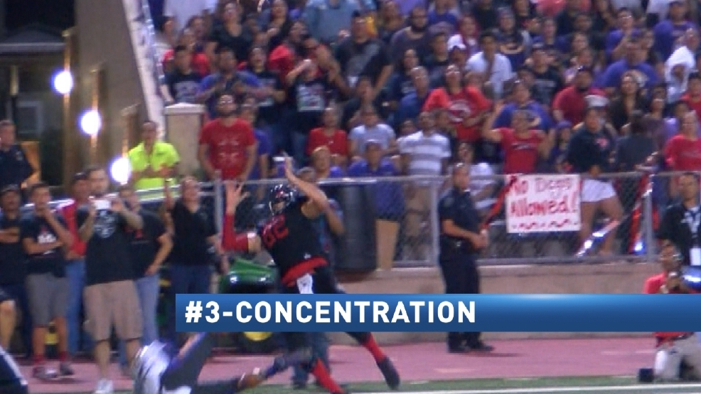 CBS 4 Top 4 Plays Of The Week: 11-7-16