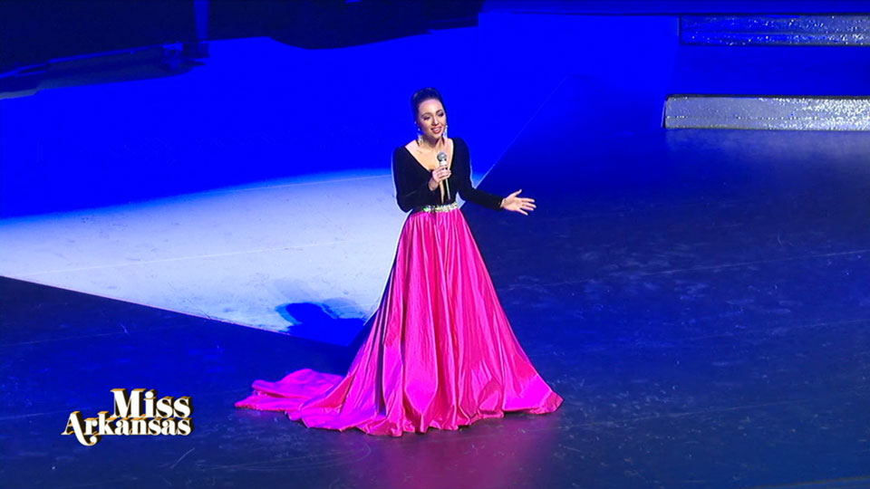 Miss Arkansas talent portion: Jacey Winn Singing (Photo: KATV)