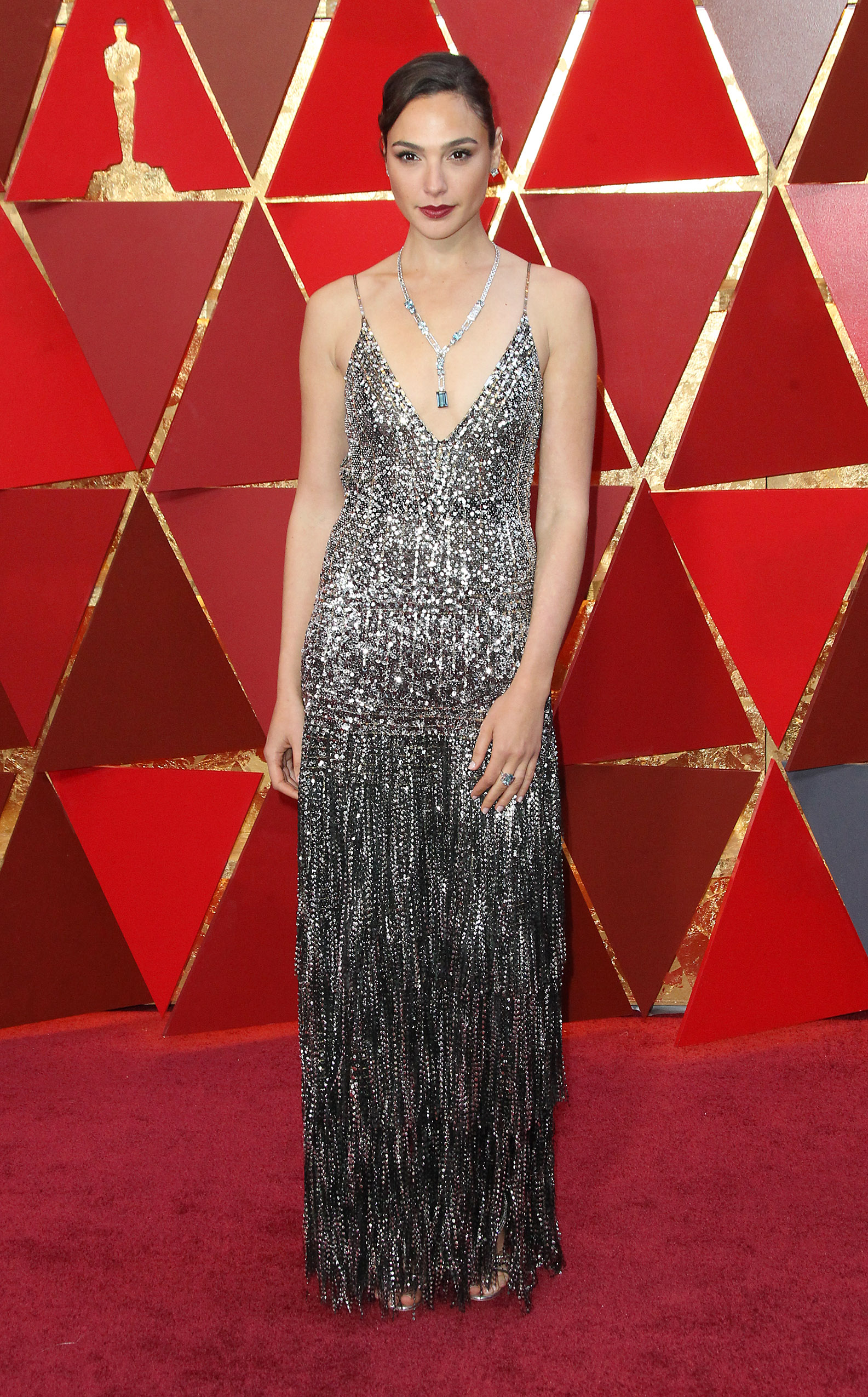 Gal Gadot{&nbsp;}arrives at the 90th Annual Academy Awards (Oscars) held at the Dolby Theater in Hollywood, California. (Image: Adriana M. Barraza/WENN.com)<p></p>
