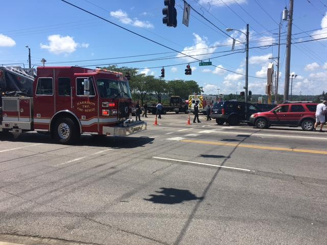 Witnesses say at least 6 people taken to the hospital from Harrison Twp crash (WKEF/WRGT)