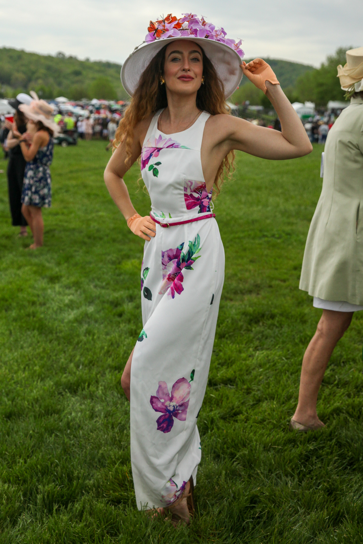 This orchid-adorned number is super elegant.{ }(Amanda Andrade-Rhoades/DC Refined)