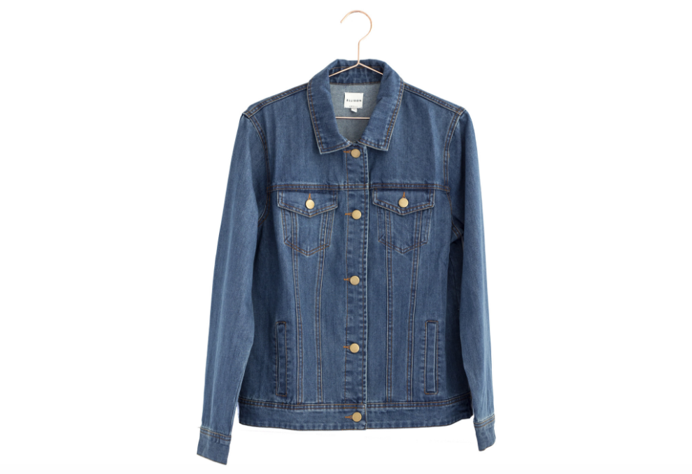 Classic Denim Jacket from Moorea Seal Collection  ($78). Find on mooreaseal.com. (Image: Moorea Seal)