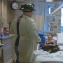 Green Bay firefighters surprise patients at HSHS St. Vincent Children's Hospital