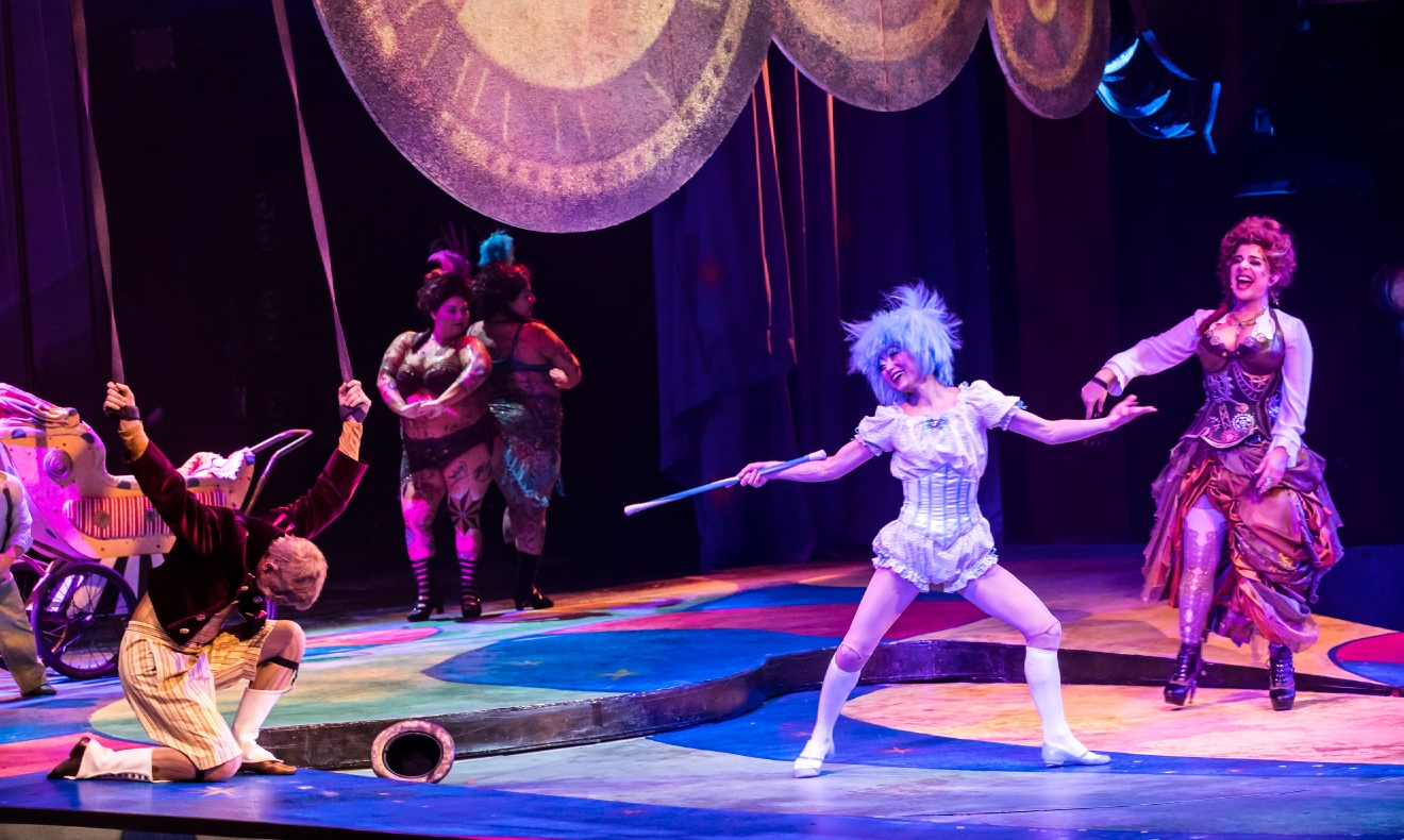 One Night for One Drop 2017 Dazzles with Exciting Vintage Circus Theme, March 3, 2017. (Photo courtesy of Erik Kabik/ErikKabik.com)
