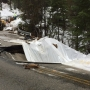 Highway 41 collapses, closed near Yosemite