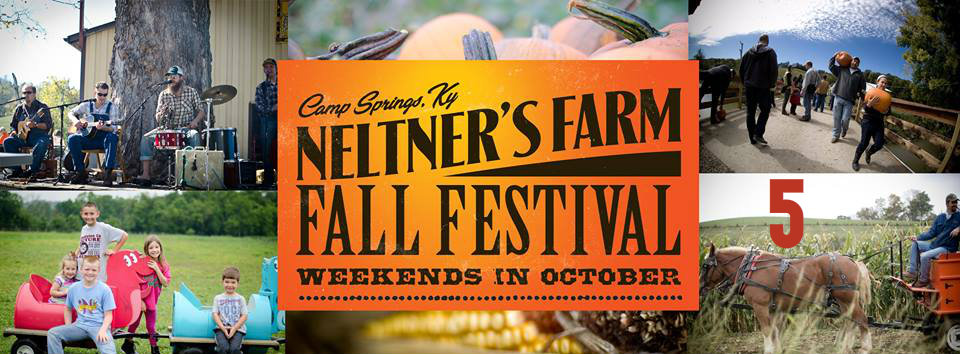 #5 - If you're looking for family-friendly fall events, look no further than Neltner's Farm.