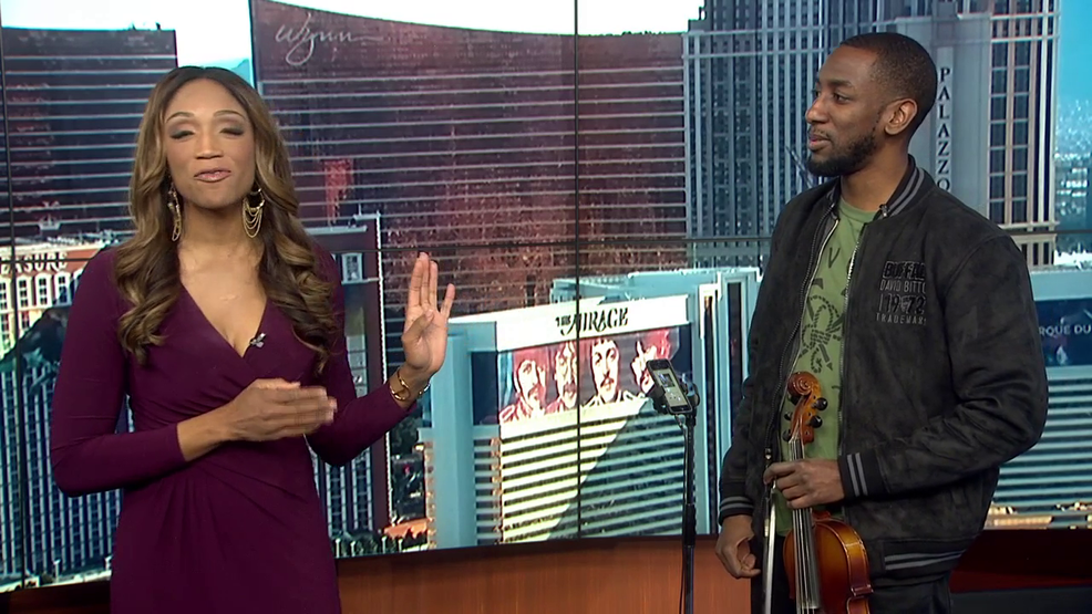 Violinist Brandon Summers mixes pop, hip hop with classical music | KSNV