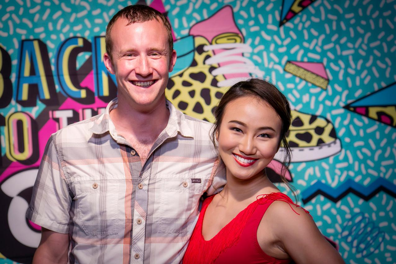 Tyler Millin and Ling Wang{ }/ Image: Mike Bresnen Photography