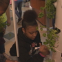 Greece Olympia science students build tower gardens of herbs, fruit