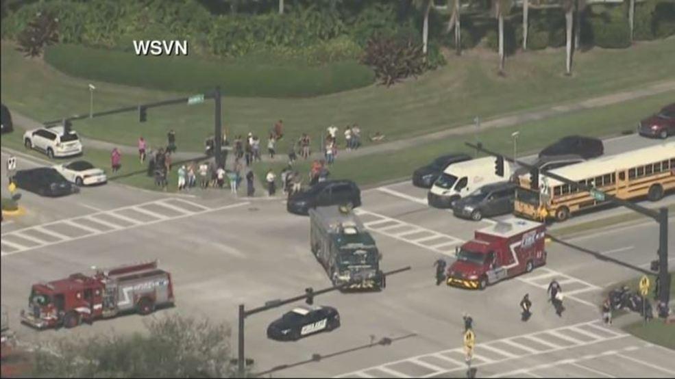 Report: 20 hurt in shooting at Florida high school