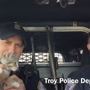 Donut the Police Cat joins officers on karaoke ride-along