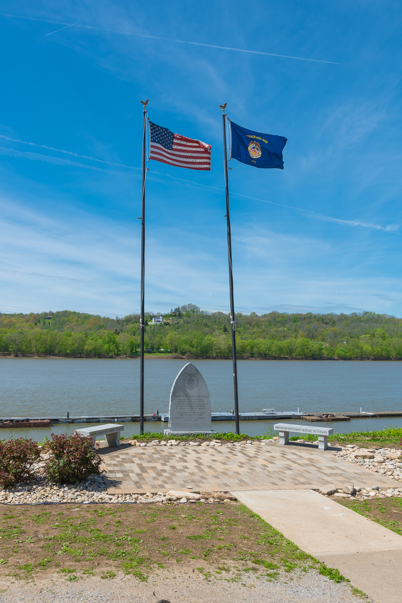 The United States Merchant Marines memorial for WWII Veterans / Image: Sherry Lachelle Photography // Published: 5.22.17