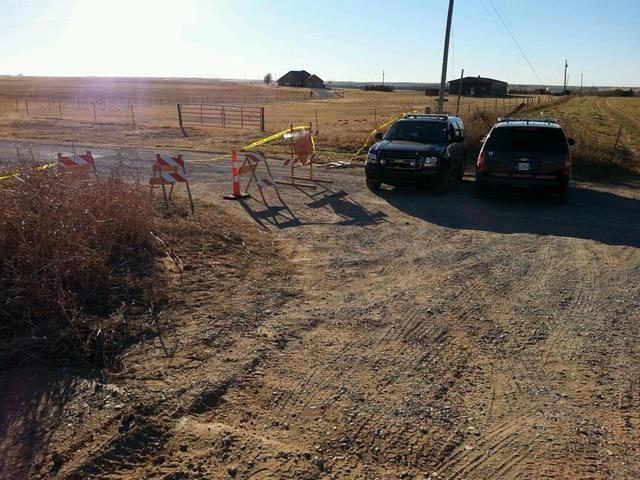 OBNDD says it was a very specific tip that led them to the remote area north of Weatherford airport.