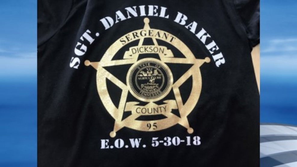 Dickson business sells shirts to honor Sgt  Daniel Baker