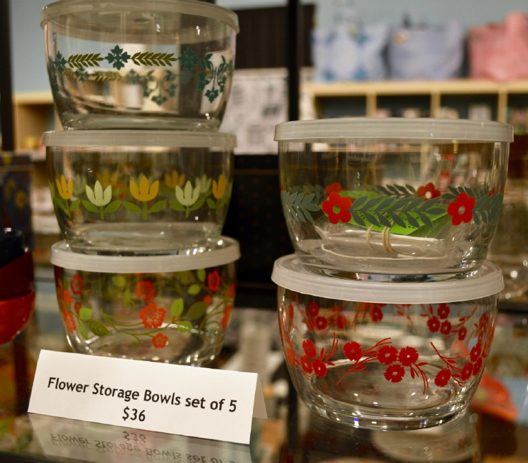 Or a set of five glass storage bowls for $36. (Image: Samantha Shapin)