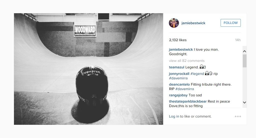jamie bestwick instagram