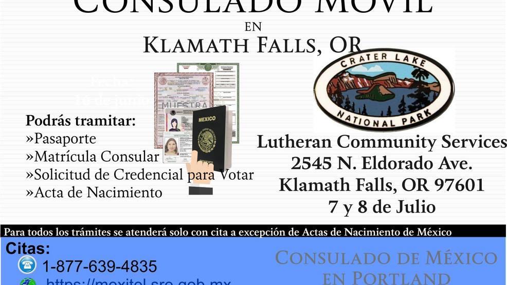 Anuncian consulado móvil mexicano en Klamath Falls | KUNP