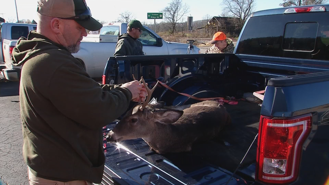 Eric Richmond, a wildlife manager with the WVDNR, has been gathering data on deer for over 20 years. (WCHS/WVAH)