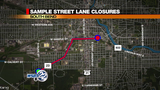 TRAFFIC ALERT: Delays expected on Sample Street due to repaving project