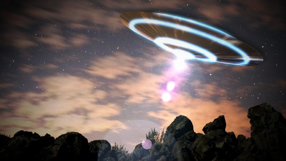 are recent ufo sightings near the international space station the