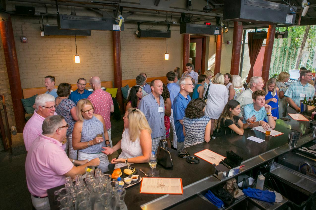 The Lindner Center of Hope (LCOH) held its annual fundraiser/employee party at Kaze in Over-the-Rhine on Sunday, August 5. LCOH is a comprehensive mental health facility located in Mason. / Image: Mike Bresnen Photography // Published: 8.6.18