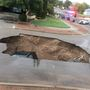 Sinkhole emerges in west El Paso neighborhood