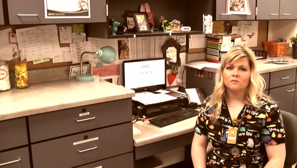 WATCH: School nurse goes viral with Adele parody detailing daily interactions (Photo: Kelli Petersen)