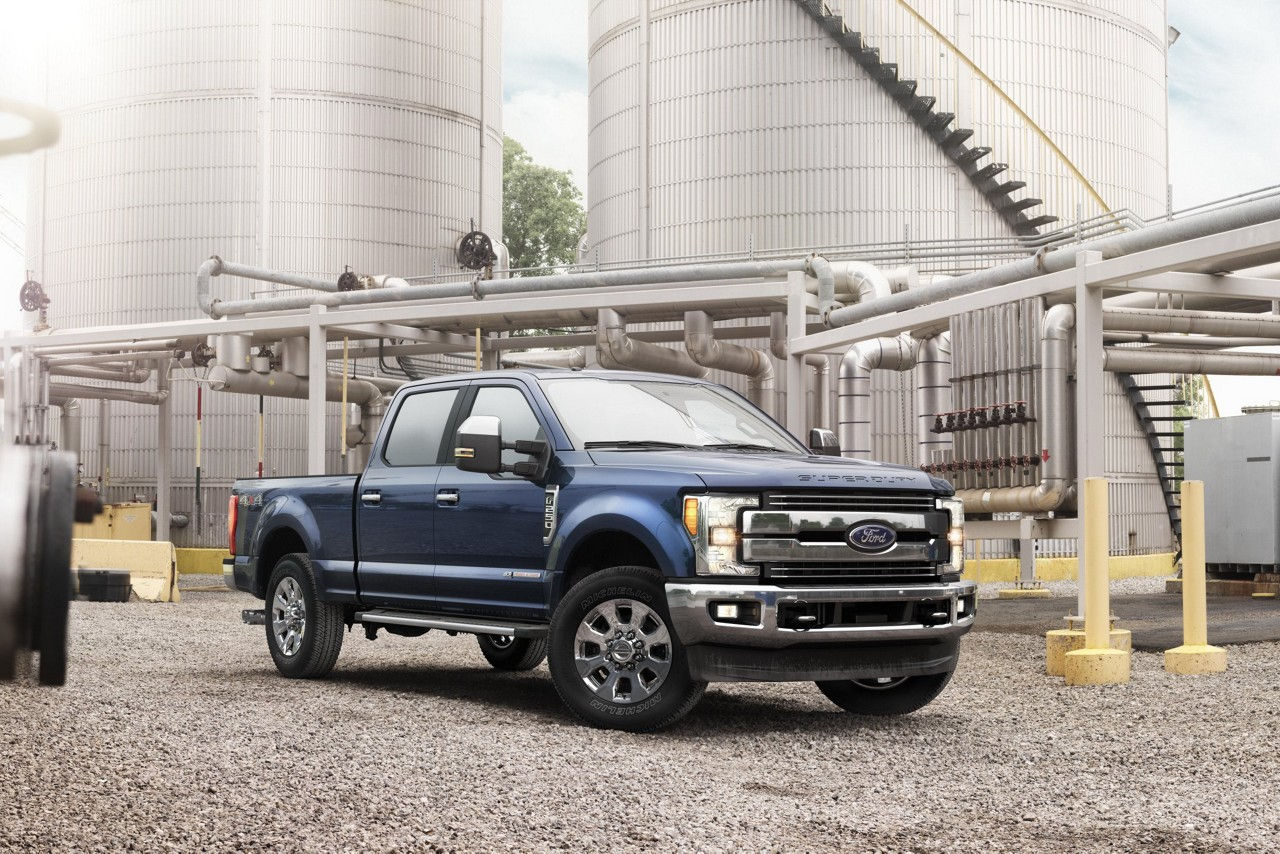 2017 Ford SuperDuty. (Ford Motor Company)