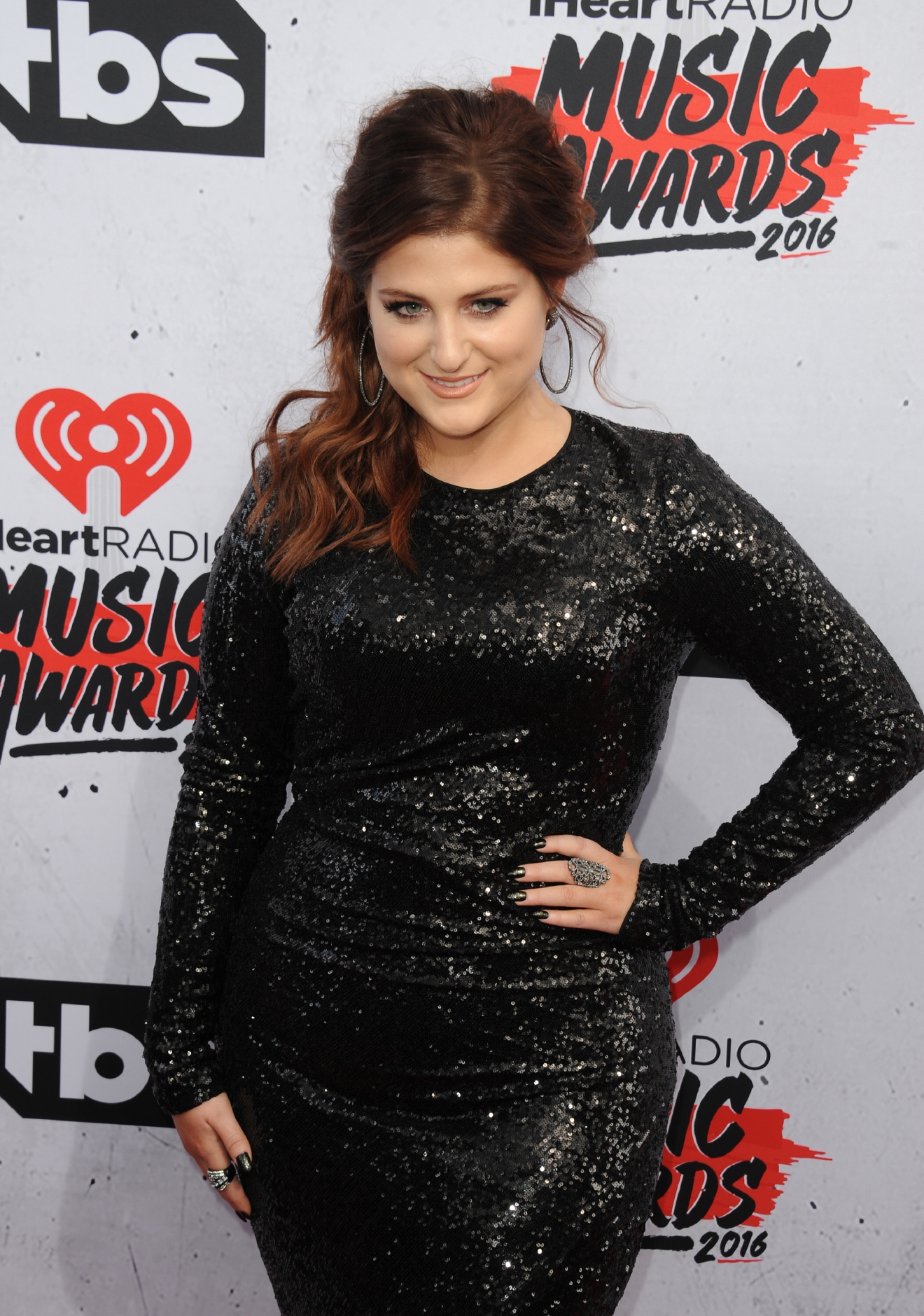 iHeartRadio Music Awards                                    Featuring: Meghan Trainor                  Where: Inglewood, California, United States                  When: 03 Apr 2016                  Credit: FayesVision/WENN.com